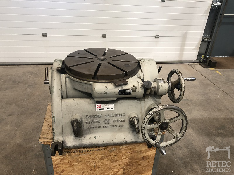 Tilt rotary table SIP P1-5C - Ø 450 mm