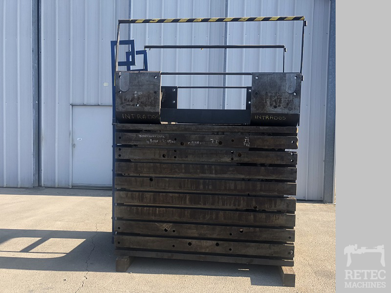 Cast iron clamping cube 2000 x 1500 x 1200 mm