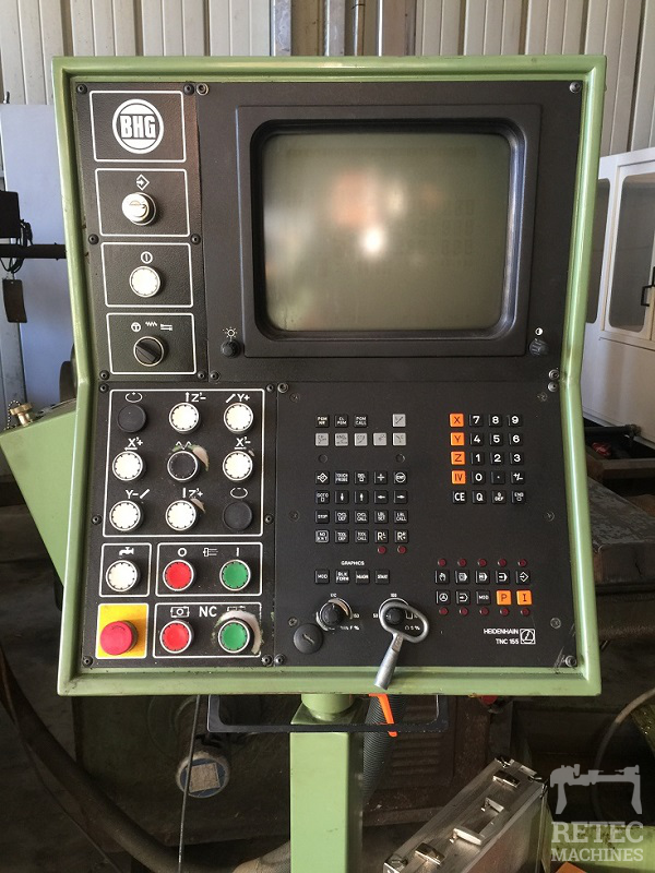 Fraiseuse d'outillage CNC HERMLE type UWF 1000