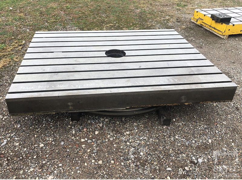 Cast iron bed 2000 x 1600 x 180 mm