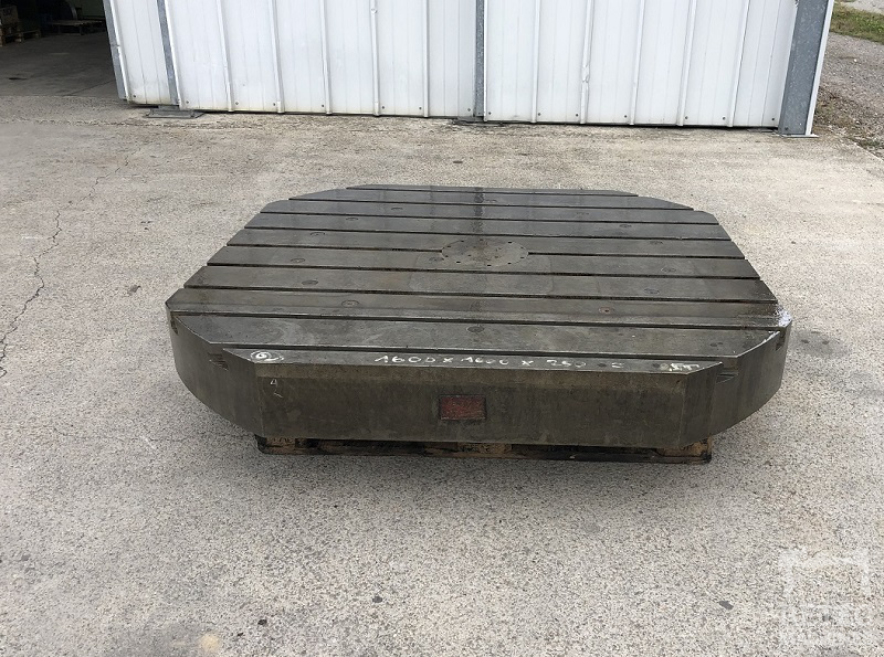 Cast steel bed 1600 x 1600 x 250 mm - No 2