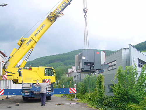 Grue de transport - Retec Machines